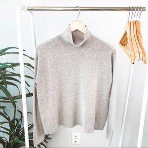 Everlane Cashmere Square Turtleneck Sweater